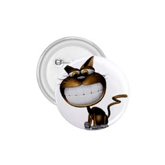 Funny Cat 1.75  Button