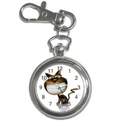 Funny Cat Key Chain & Watch