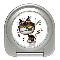 Funny Cat Desk Alarm Clock