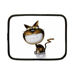 Funny Cat Netbook Case (small)