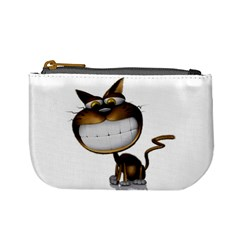 Funny Cat Coin Change Purse