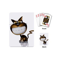 Funny Cat Playing Cards (mini)