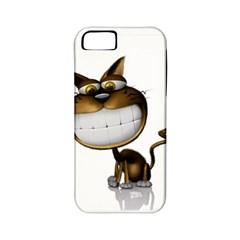 Funny Cat Apple Iphone 5 Classic Hardshell Case (pc+silicone)