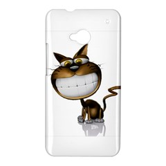 Funny Cat HTC One M7 Hardshell Case