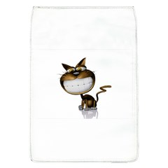 Funny Cat Removable Flap Cover (Large)