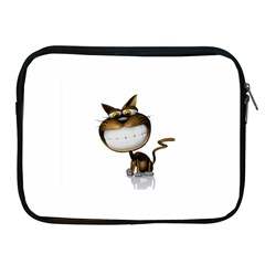 Funny Cat Apple iPad 2/3/4 Zipper Case