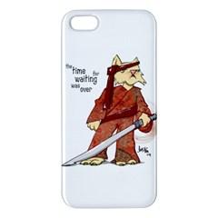 Samurai Cat iPhone 5 Premium Hardshell Case