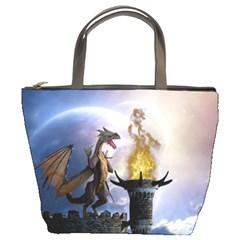 Dragon Land 2 Bucket Bag