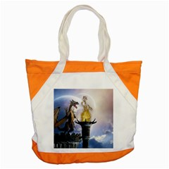 Dragon Land 2 Accent Tote Bag