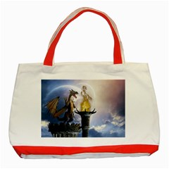 Dragon Land 2 Classic Tote Bag (Red)