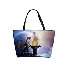 Dragon Land 2 Large Shoulder Bag