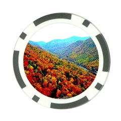 Through The Mountains Poker Chip 10 Pack