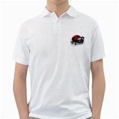 Lady Bird Mens  Polo Shirt (white)