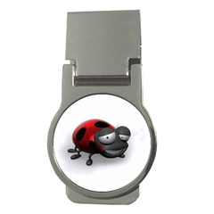 Lady Bird Money Clip (round)