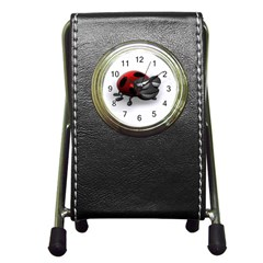 Lady Bird Stationery Holder Clock