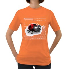 Lady Bird Womens' T-shirt (Colored)