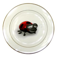 Lady Bird Porcelain Display Plate