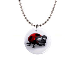 Lady Bird Button Necklace