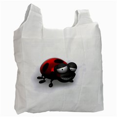 Lady Bird Recycle Bag (One Side)
