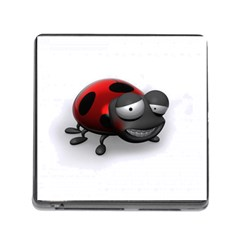 Lady Bird Memory Card Reader with Storage (Square)