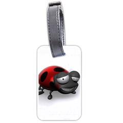 Lady Bird Luggage Tag (one Side)