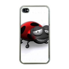 Lady Bird Apple iPhone 4 Case (Clear)