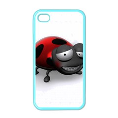 Lady Bird Apple Iphone 4 Case (color)