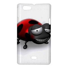 Lady Bird Sony Xperia Miro Hardshell Case