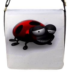 Lady Bird Flap closure messenger bag (Small)