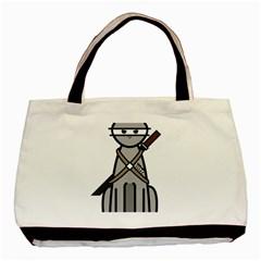 Ninja Cat Classic Tote Bag