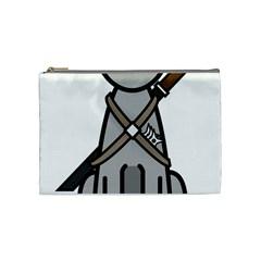 Ninja Cat Cosmetic Bag (Medium)