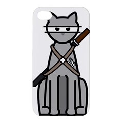 Ninja Cat Apple iPhone 4/4S Premium Hardshell Case