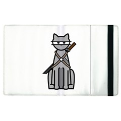 Ninja Cat Apple iPad 2 Flip Case