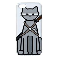 Ninja Cat iPhone 5 Premium Hardshell Case