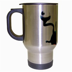 Funny Snail Travel Mug (silver Gray)