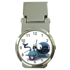Funny Snail Money Clip With Watch