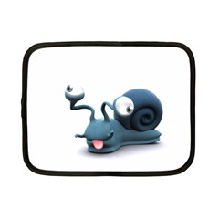 Funny Snail Netbook Case (Small)