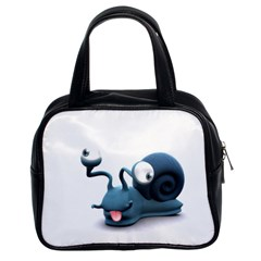 Funny Snail Classic Handbag (Two Sides)
