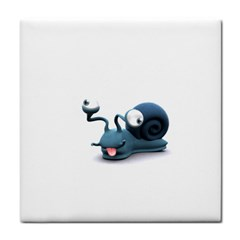 Funny Snail Face Towel