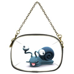 Funny Snail Chain Purse (two Side)