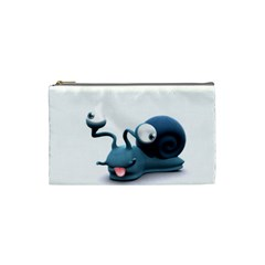 Funny Snail Cosmetic Bag (small)