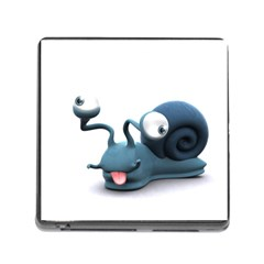Funny Snail Memory Card Reader With Storage (square)