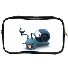 Funny Snail Travel Toiletry Bag (One Side)