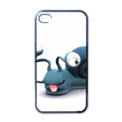 Funny Snail Apple Iphone 4 Case (black)
