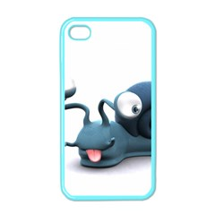 Funny Snail Apple iPhone 4 Case (Color)