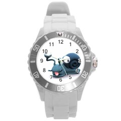 Funny Snail Plastic Sport Watch (Large)