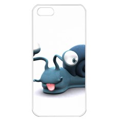 Funny Snail Apple Iphone 5 Seamless Case (white)