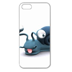 Funny Snail Apple Seamless iPhone 5 Case (Clear)