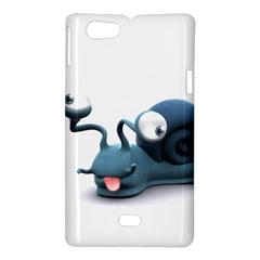 Funny Snail Sony Xperia Miro Hardshell Case