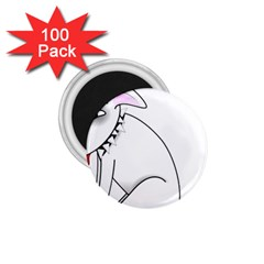 Pitbull 1 75  Button Magnet (100 Pack)